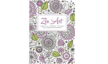 Panini Ausmalbuch Zen Art