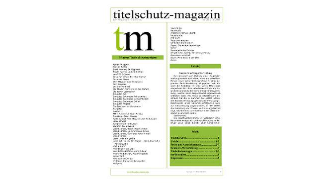 Titelschutz Magazin März 2019